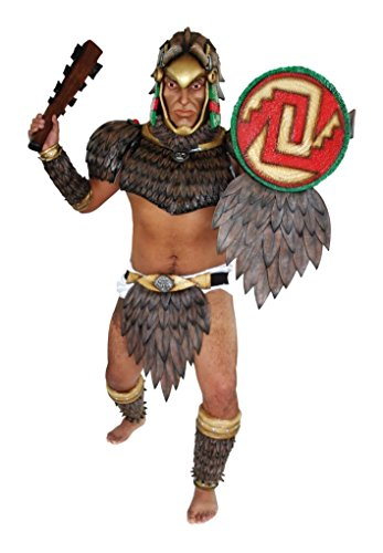 Scary Halloween Latex Face Mask Eagle Warrior Party Costume]()