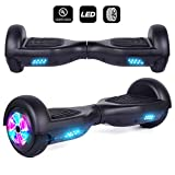 JOLEGE Hoverboard, Two Wheel Scooter Self Balancing Electric Hoverboards UL2272 Certified and LED Light