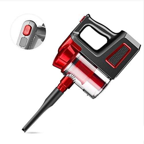 Aspirateur domestique poche sans fil, Filtre Quadruple 9000Pa Grande aspiration Aspirateur, à deux vitesses réglable Nettoyage d\'éclairage LED avant outil LMMS