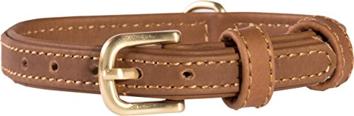 Product image of Friends Forever Genuine Leather Collar, Soft Touch Leather Dog Collars for Small Medium Dogs, Size Small