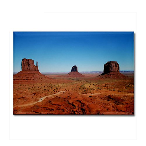 CafePress - Monument Valley Entrance Rectangle Magnet - Rectangle Magnet, 2