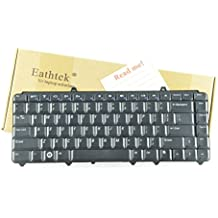 Eathtek New Laptop Keyboard For Dell Inspiron 1545 1525 1410 1420 series Black US Layout, Compatible with part numbers P446J 0P446J NSK-9301 (Note: The part number may be different)