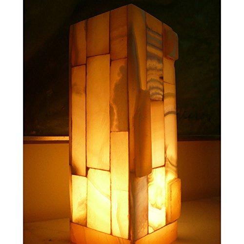 Circus Lamp - Siam Circus Handmade 11.5-inch Alabaster Accent Lamp (Egypt)