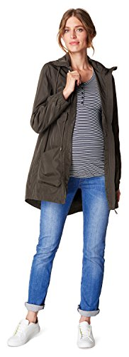 ESPRIT Maternity, Chaqueta Premamá para Mujer Olive Green (310)