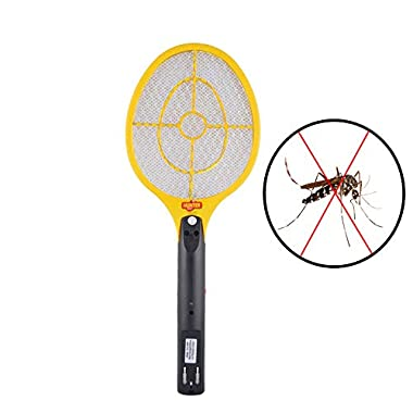 Spartan Hunter Mosquito Resistant Bat/Rechargeable Mosquito Swatter/Zapper Racket (Multicolor, Pack of 1) 5