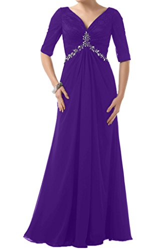 Ivydressing -  Vestito  - linea ad a - Donna viola 40
