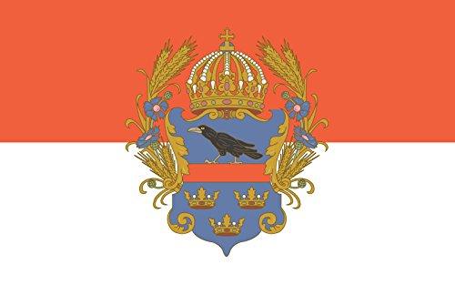 magFlags Bandera Large Kingdom of Galicia and Lodomeria | Bandera Paisaje | 1.35m² | 90x150cm