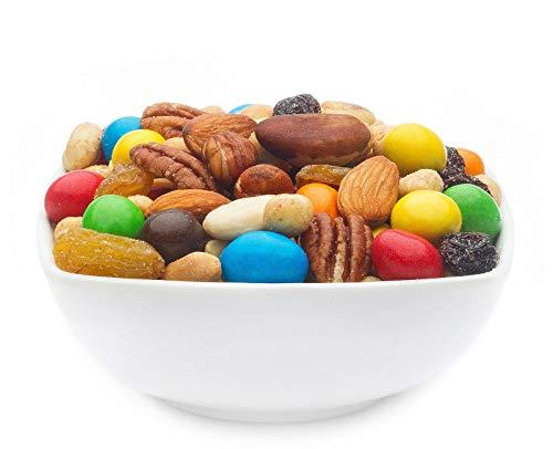 1 x 3kg Trail Mix Studentenfutter, süß und salzig Nussmischung Bunte Snackmischung aus Schokofrüchten und Nüssen vegetarisch 100 % Premium 15% Protein
