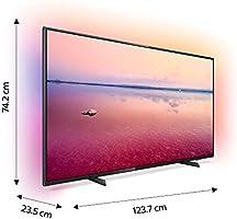 Philips 55PUS6704/12 - Televisor Smart TV LED 4K UHD, 55 pulgadas, Ambilight 3 lados, HDR 10+, Dolby Vision, Dolby Atmos, color negro: Amazon.es: Electrónica