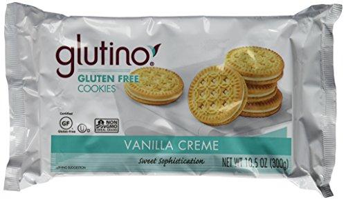 Glutino Dream Cookies Gluten Free Vanilla Creme -- 10.5 oz