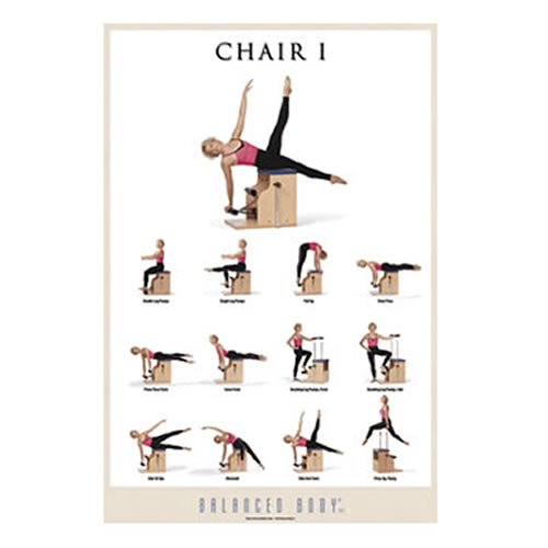 AmazoncomExercise Poster Chair IFitness Charts And