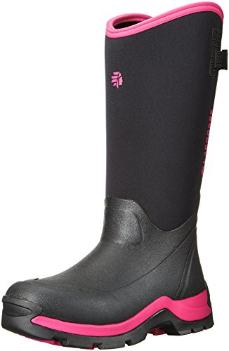 Lacrosse Dames Thermische Werkschoen Zwart / Roze