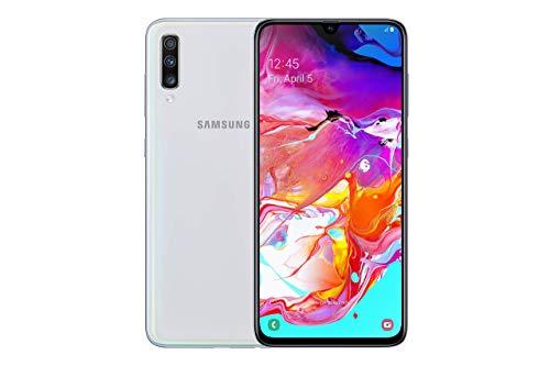 Samsung Galaxy A70 4G 6.7 inchesSmartphone 6GB RAM 128GB Unlocked Dual-SIM White A (Renewed)