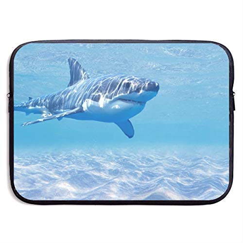 LiaanQianga Ocean Sea Shark 13-15 Inch Laptop Sleeve Bag - Tablet Clutch Carrying Case,Water Resistant, - Carrying Notebook Clutch Case