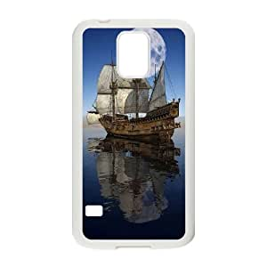 CHENGUOHONG Phone CaseSailing & Tall Ship For Samsung Galaxy S5 -PATTERN-10