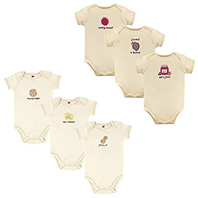 Touched by Nature Baby Girls' Organic Cotton Bodysuits
