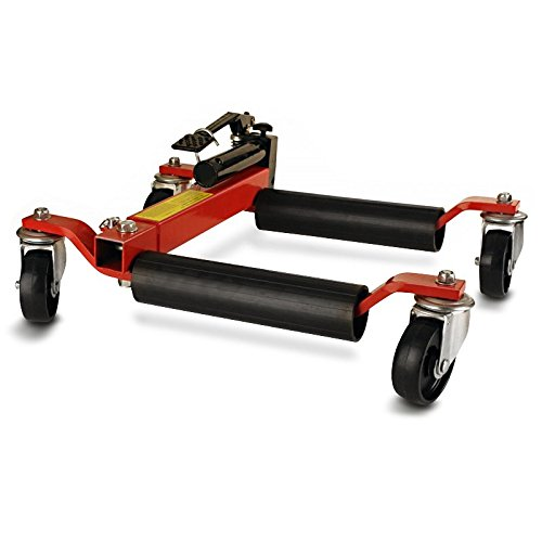 ConStands Motorcycle Dolly Mover Heavy Duty red