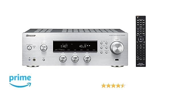 Pioneer SX-N30AE-S - Receptor estéreo, Color Plata: BLOCK: Amazon ...