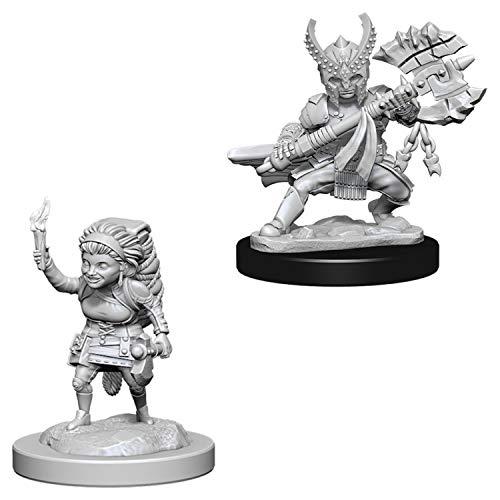 D/&d Nolzurs Marvelous Miniatures Female Halfing Fighter