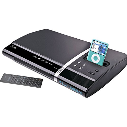 Jwin Speaker Systems (iLuv i1255 Slim Desktop DVD Player and Dock for iPod (Black))