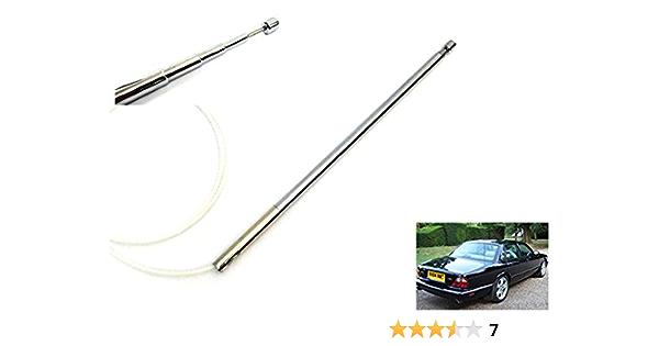 Antena eléctrica de alimentación aérea mástil Radios OEM reemplazo cable de dientes para Vanden Plas XJ XJ6 XJ8 XJR X300 X308 XJS XK8 XKR X100