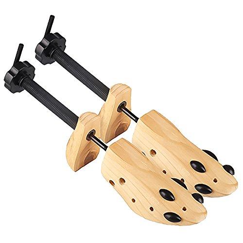 Wooden Shoe Stretcher Expander Adjustable Shaper Tree - 9