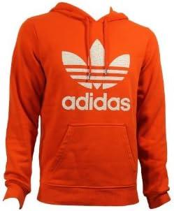 addidas sweat orange homme