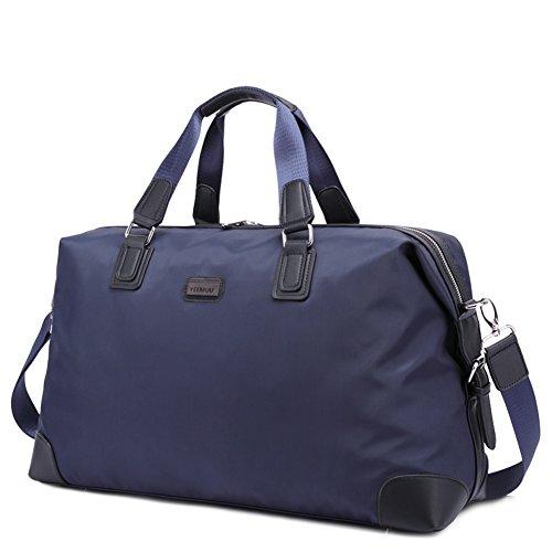 Bolso de totalizador a granel/bolsas de viaje para hombres de negocios/sola bandolera-azul azul