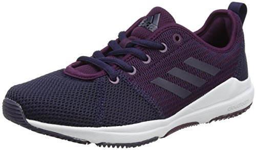 Damen Arianna Metallic Tech Red Cloudfoam Night adidas Noble Silver Ink Rot Hallenschuhe pqwUP6d