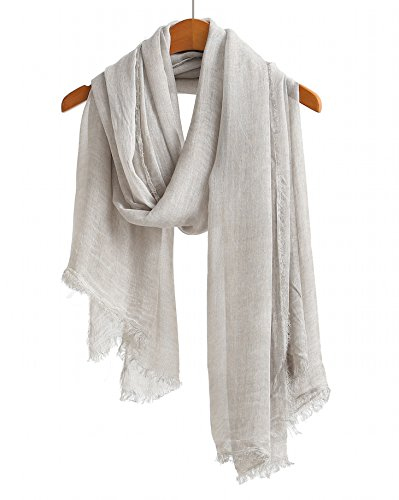 WS Natural Scarf Shawl Scarves