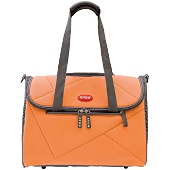 49725f8b7a Argo by Teafco Pet Avion Airline Approved Pet Carrier, Tango Orange, Medium