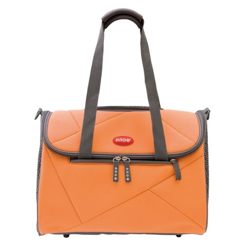Argo by Teafco Pet Avion Airline Approved Pet Carrier, Tango Orange, Medium For Sale