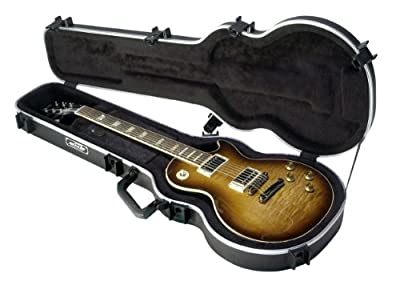 SKB SKB-56 Deluxe Single Cutaway Electric Guitar Case by SKB Cases