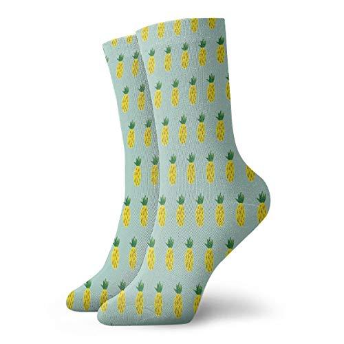 (Crew Socks Cute Pineapple Art Trendy Mens Dress Stocking Decoration Sock Clearance For Boys )