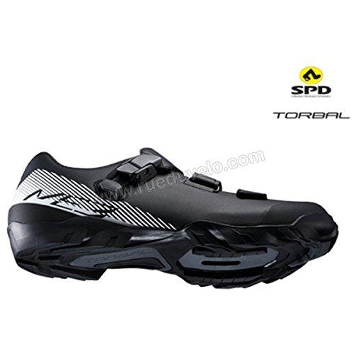 SHIMANO SHME3PG370SL00 - Zapatillas ciclismo, 37, Negro - Blanco , Hombre