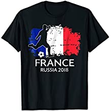 France Soccer Football Team 2018 French TShirts