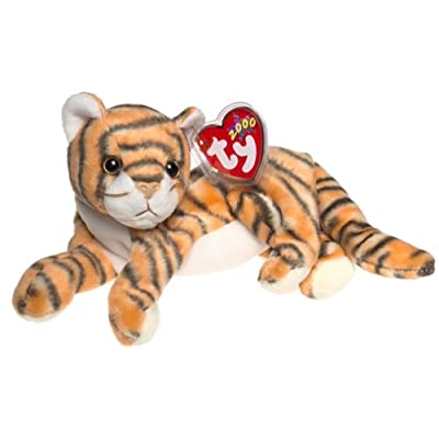 TY Beanie Baby - INDIA the Tiger: Toys & Games