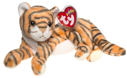 TY India the Tiger Beanie Baby by TY~BEANIES CATS