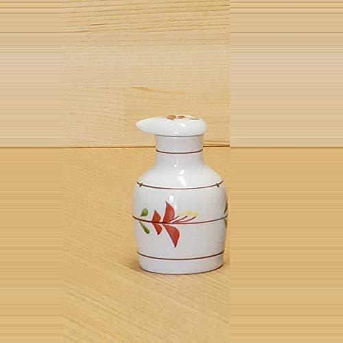 - Imari Pottery Japanese Soy Sauce Bottle Round Type Flowers 00512015