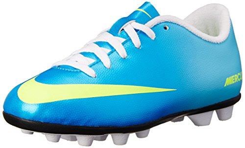 Nike Kids Unisex Jr Mercurial Vortex Fg Neptune Blue / Tide Pool Azul / Blanco / Volt