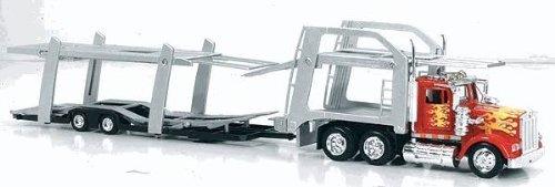 1979 Kenworth W900 Tandem Car Carrier Auto Transporter Truck- 1:43 (Toy Truck Shelf)