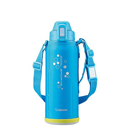 Zojirushi stainless cool bottle ''TUFF'' (1.03L) Sky Blue SD-EB10-AL by Zojirushi