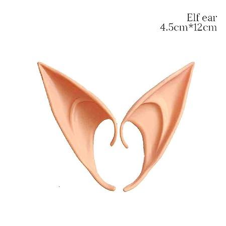 OLUYNG Angel Elf Ears Disfraz de Halloween Fiesta de Disfraces ...