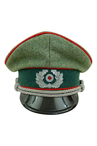WW2 German Heer Artillery officer Wool Visor Cap with ()