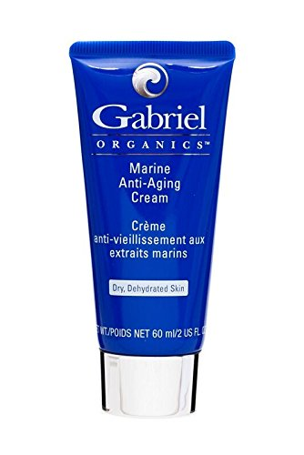 Gabriel ORGANICS, Marine Anti-Aging Cream, 2 OunceNatural, Paraben Free, Vegan, Cruelty-free, Non GMO, Age Defying cream, Infused with Vitamin E to protect the skin from environmental insults.
