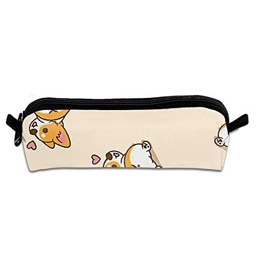 MISSMORN Pencil Case Bag Corgi Doggy Animal Style Pen Organi