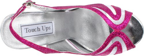Virginia Platform Glitter Ups Women's Fuschia Touch Yxn6vwSY