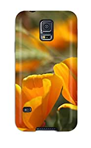 Gary L. Shore's Shop New Style 7013350K86094839 Quality Case Cover With Summer Flowers Nice Appearance Compatible With Galaxy S5