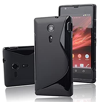lowest price 32a96 921fa Wellmart Rubber Back Cover For Sony Xperia ZR