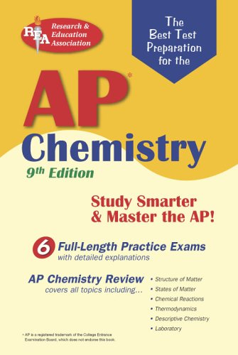 AP Chemistry (REA) - The Best Test Prep for the Advanced Placement Exam (Advanced Placement (AP) Test Preparation)